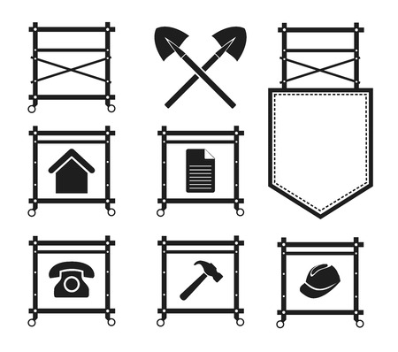 scaffold: Collection of Scaffolding Icons for web site