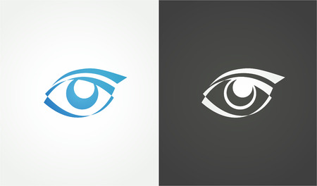 conception: Eye logo conception, 2d Vector Illustration, Sign of Beauty Illustration