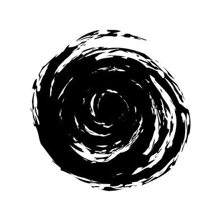 blot: Black Blot - Vector Element for Logotype of Company Illustration