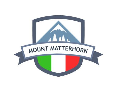 Italian Mount Matterhorn