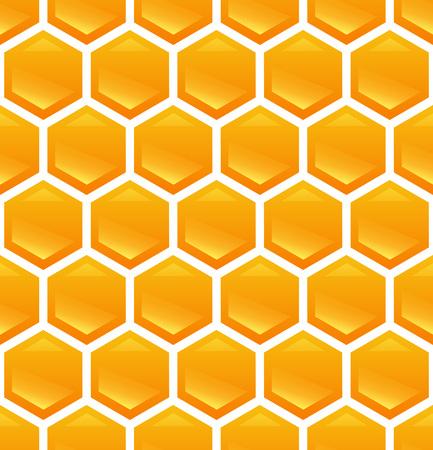 Honeycomb on Background