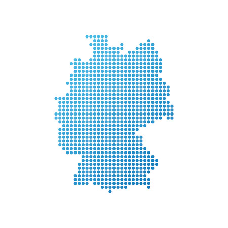 Map of Germany 向量圖像