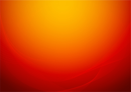 Colorful Red abstract background like luxury warm silk curtains - Vector wallpaper.