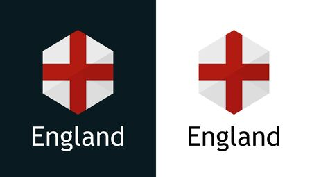 Vector England flag for Elections, Sport, travel