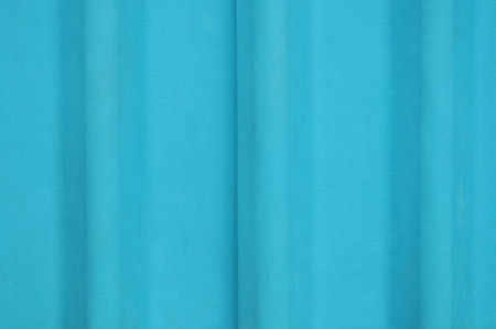 Light blue corrugated asbestos roof tiles background