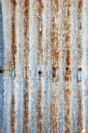 galvanized: Rusted galvanized iron plate background
