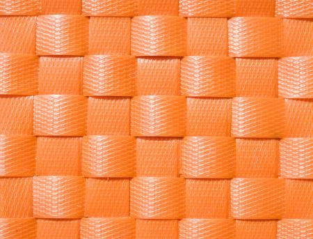 Weave plastic wicker pattern background.