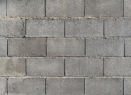 Concrete block wall background  texture. Archivio Fotografico