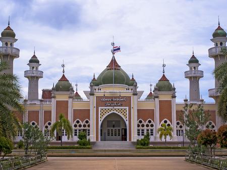 pattani thailand: Pattani mezquita central, Sur, Tailandia.