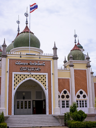 southern of thailand: Pattani central mosque, Southern, Thailand.