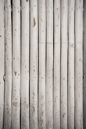 grunge wood: Close up of old bamboo fence. Background and texture.