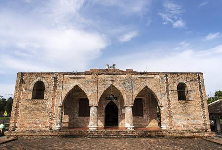 pattani thailand: Se Mezquita Krue en Pattani, Tailandia. Foto de archivo