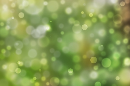 Abstract green background with bokeh effect