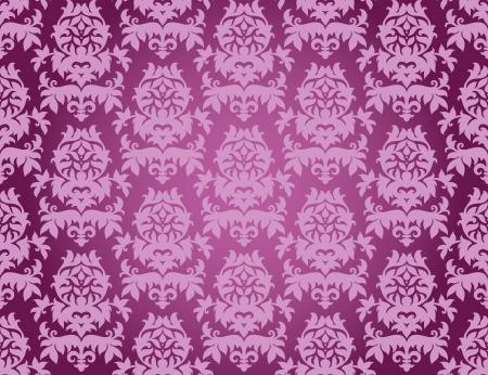 Vector illustration of seamless wallpaper ornament Stock Vector - 14505509