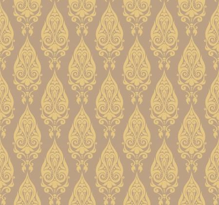 Vector illustration of seamless wallpaper ornament Stock Vector - 14505507
