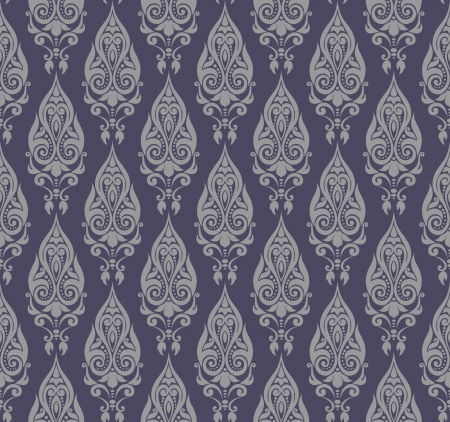 Vector pattern in grey Vector
