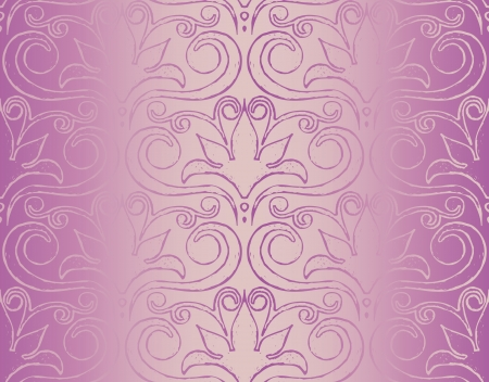 Vector seamless pattern with gradient Vector