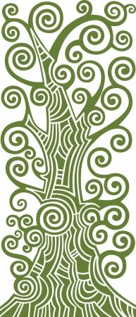 albero della vita: L'albero della vita illustrazione Vettoriali