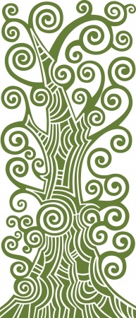 Tree of life illustration Stock Vector - 17599846