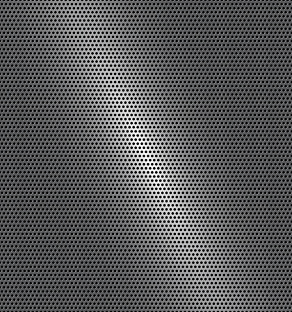 Vector illustration of perforated technology background with gradient