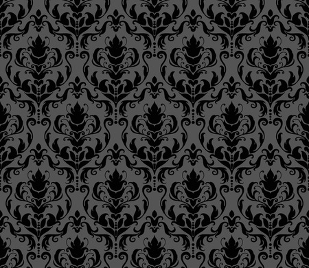 decoration: Abstract seamless decorative floral background in rich colors Illustration