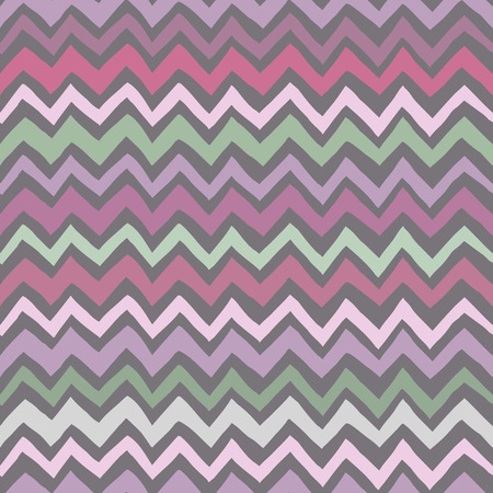 chevron background: Seamless vintage chevron background in pastel colors Illustration