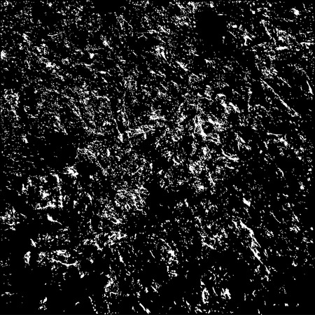 grained: Grunge stone rough grained texture on black