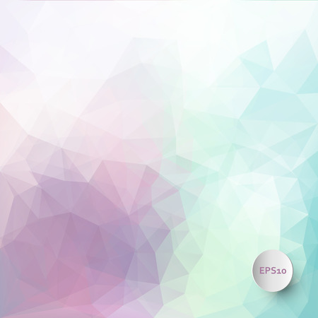 ice: Abstract vector triangle ice background in pastel colors