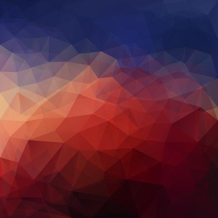 poligonos: Resumen de fondo triangulo vector de hielo en colores oscuros