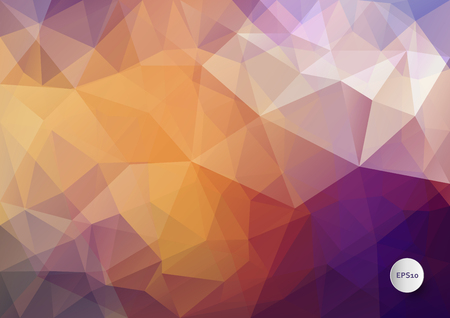 splinter: Abstract vector triangle background in bright colors