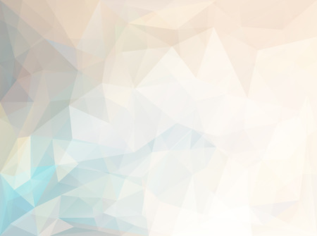 pastel: Abstract vector triangle background in yellow and blue colors
