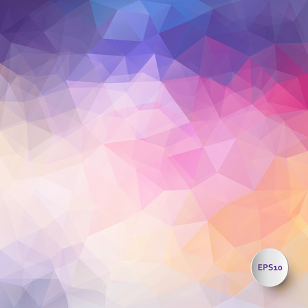 Vector triangle colorful background with transparencies in bright colors