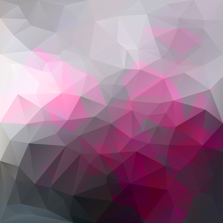 Vector triangle dramatic background with transparencies in black and pink