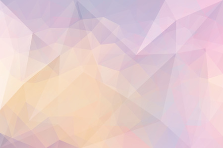 splinter: Vector triangle mosaic background with transparencies in pastel colors Illustration