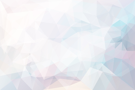 splinter: triangle mosaic background with transparencies in light colors