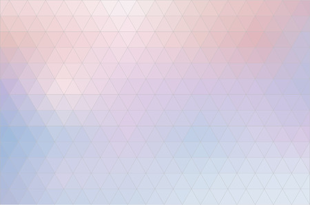 Vector abstract background, triangle design in pink and blue colors Illustration