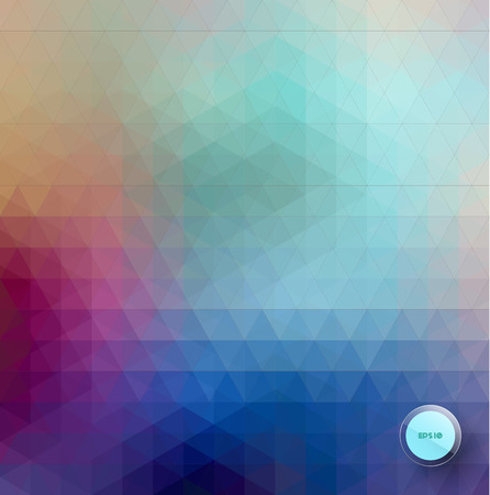 splinter: Abstract vector triangle background in green and blue, geometric background Illustration