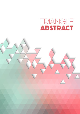 splinter: Vector triangle colorful background with transparencies in bright colors
