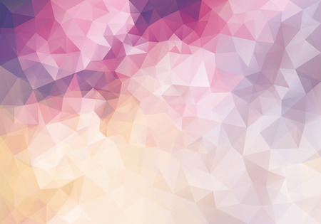 splinter: Abstract vector triangle background in pink and purple colors Illustration