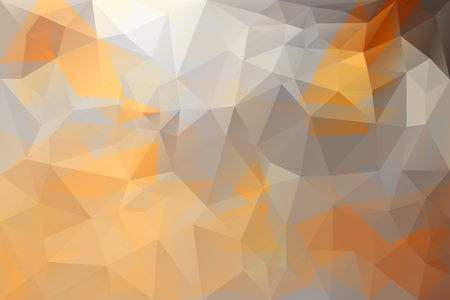 splinter: Abstract vector triangle background in yellow and grey colors