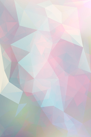 splinter: Abstract vector triangle background in blue and pink