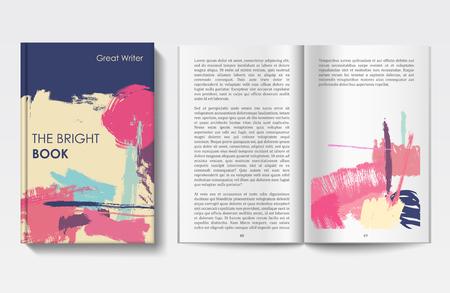 design: Book design template