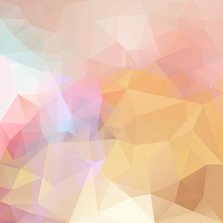 Abstract vector triangle background in bright colors.