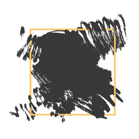 Vector grunge brushed background Illustration