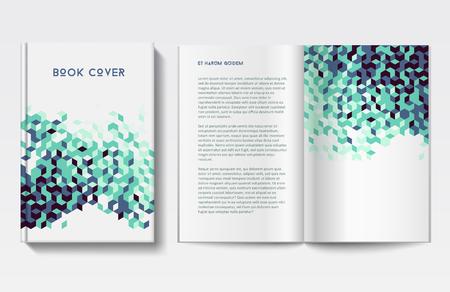 Book design template