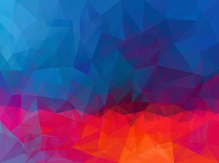 Dark red blue pattern