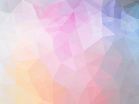 Triangle pink blue pattern