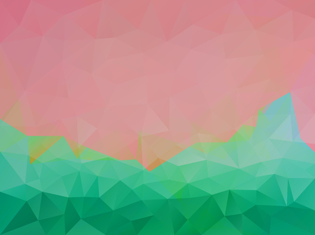 Polygonal vector background Illustration