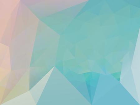 Vector background, polygonal pattern, triangular modern illustration, light mosaic artwork Illustration