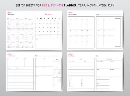 Life planner 2018